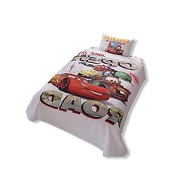 Disney Cars Single/Twin 100% Cotton Bedding Bedspread/Coverl