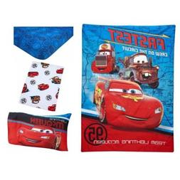 Disney Cars Team Lightening 4-Piece Toddler Bedding Set