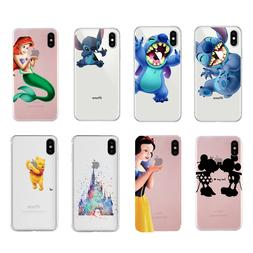 Disney Cartoon Figure Screen Protector Phone Case Cover For