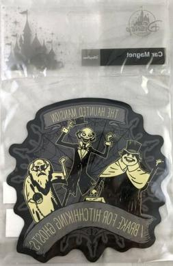 Disney Parks Haunted Mansion Car Magnet I Brake For Hitchhik
