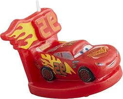 Wilton 2811-7110 3 Disney Pixar Cars 3 Birthday Candle, Asso