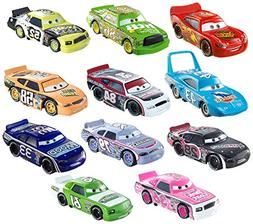 Mattel Disney/Pixar Die-Cast KIDS CARS, 11 Pcs Piston Cup Co