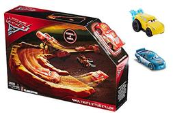 Disney: Cars 3 - Willy's Butte Stunt Jump Playset with 3 Ext