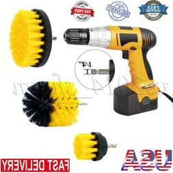 5 inch drill brush for Car Carpet wall and Tile cleaning MED