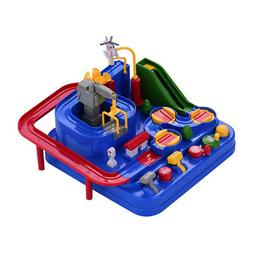 Electric Vehicle Track Set Toy Car Racing Game Educational P