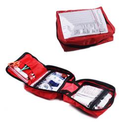 Emergency First Aid Kit Bag For Car Outdoor Camping Hiking H