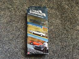 MATTEL FAST AND FURIOUS 3 CAR PAcK. 2 CHARGERS AND 1 PLYMOUT