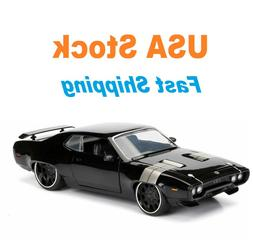 Fast And Furious Dom's 1972 Plymouth GTX, JADA, Diecast Toy