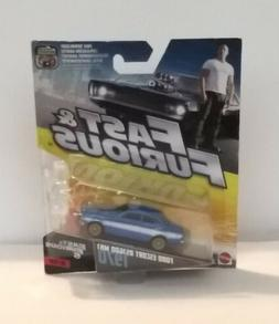 Mattel Fast And Furious Ford Escort RS1600 MK1 1970 MOC NEW