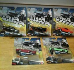MATTEL Fast and Furious FURIOUS 7 lot of five 1:55  diecast