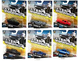 Mattel Fast and Furious Die-Cast Car Set of 6