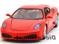 FERRARI F430 RED COUPE 1:24 DIECAST MODEL CAR BY BBURAGO 260