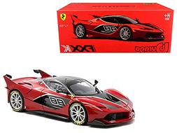 Ferrari FXX-K #88 Red Signature Series 1/18 Diecast Model Ca