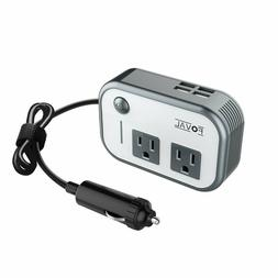 foval 200w car power inverter dc 12v