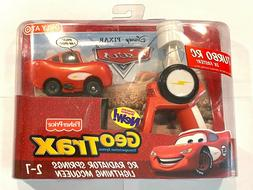 Geotrax CARS Movie Lightning McQueen RC Car for Train Track