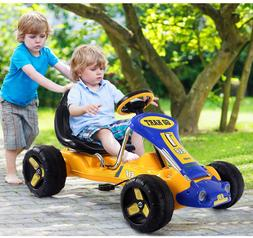 Costzon Go Kart 4 Wheel Ride on Car Pedal Powered Ride On To