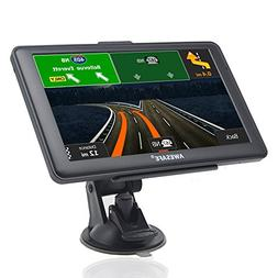 GPS Navigation for Car, AWESAFE 7 inches Touch Screen 8GB Na