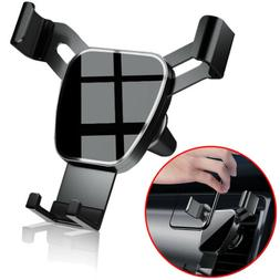 Gravity Car Air Vent Mount Cradle Cell Phone Holder Stand fo