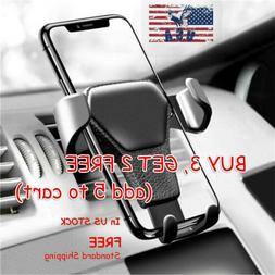 Gravity Car Air Vent Mount Phone Holder for iPhone 11 Pro XS