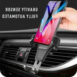 Gravity Car Mount Phone Holder Air Vent For iPhone 12 X XR X