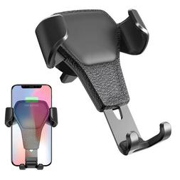 gravity car mount phone holder air vent