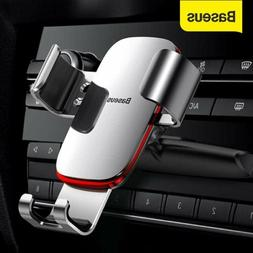 Baseus Gravity Car Phone Holder Air Vent CD Slot for iPhone