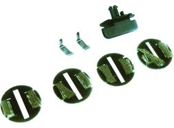 Scalextric Guides for START cars, 4 Braid Plates C8312