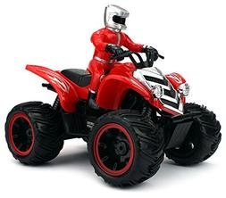 Velocity Toys ATV Road Racer Remote Control RC Car, Recharge