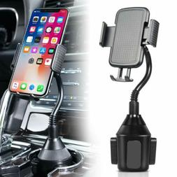 Heavy Duty Car Cup Holder Phone Mount for iPhone X XS MAX Ga