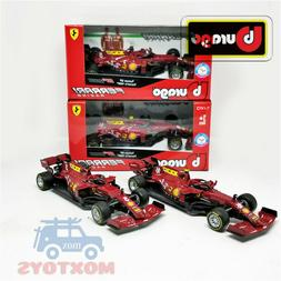 IN stock Bburago 1:43 F1 2020 Ferrari SF1000 Tuscan GP Ferra