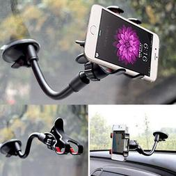 For iPhone XS Max XR X 7 8 Plus 360° Universal Car Windshie