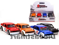 JADA JDM TUNERS 1:24 1973 DATSUN 510 WIDEBODY DIECAST MODEL