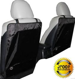 Kick Mat Luxury for Car Seat Back Protectors 2 Pack Keep You