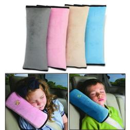 Kids Car Safety Seat Belt Cover Pillow Headrest Pillow for C