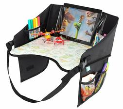 Kids Travel Tray for Cars Plane Stroller Lap - Car Seat Acti