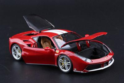 Bburago Car Ferrari 488 70th Ver.