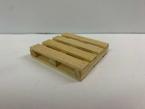1 18 scale wood pallet for diecast