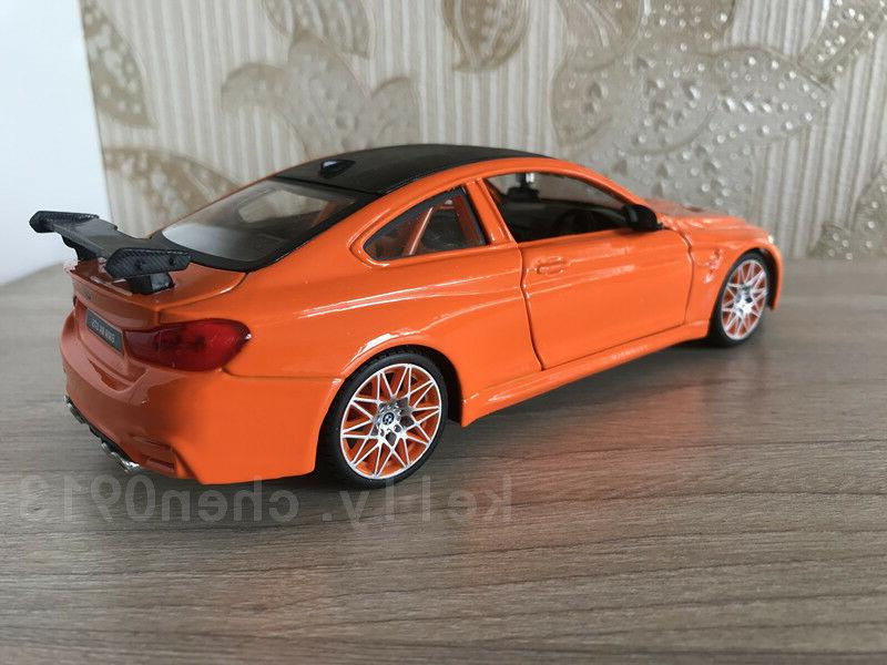 Maisto 1:24 Car Model Collection Mens Gift--Orange For BMW M4 GTS