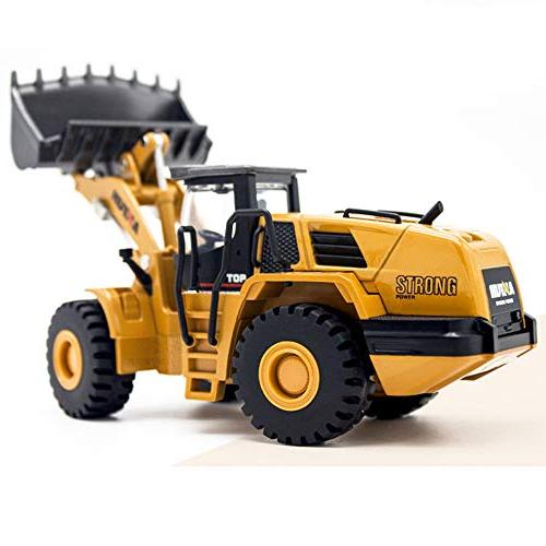 Ailejia 1/50 Scale Diecast Articulated Dump Truck Models Vehicle Model Toy Mechanical Loader