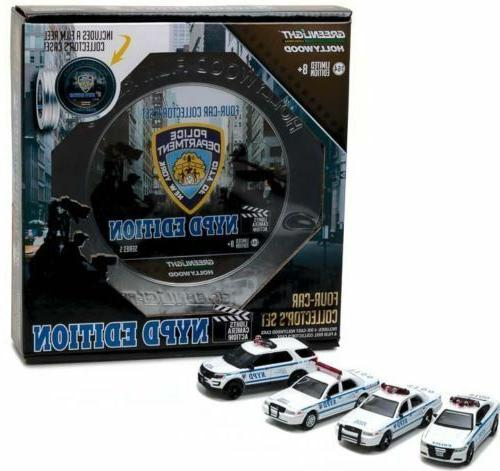 Greenlight 1/64 NYPD New York City Police Behind The Scenes