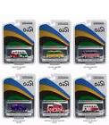 GREENLIGHT 1:64 RIO COLLECTION 2016 VW VOLKSWAGEN SET OF 6 D