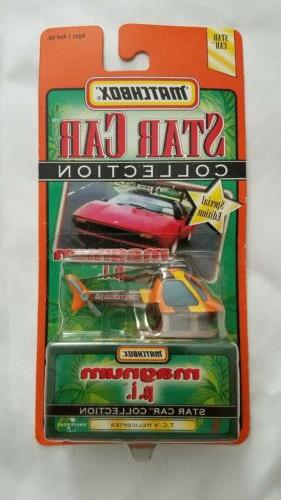 Matchbox 1:64 Scale Star Car Collection MAGNUM PI TC's HELIC