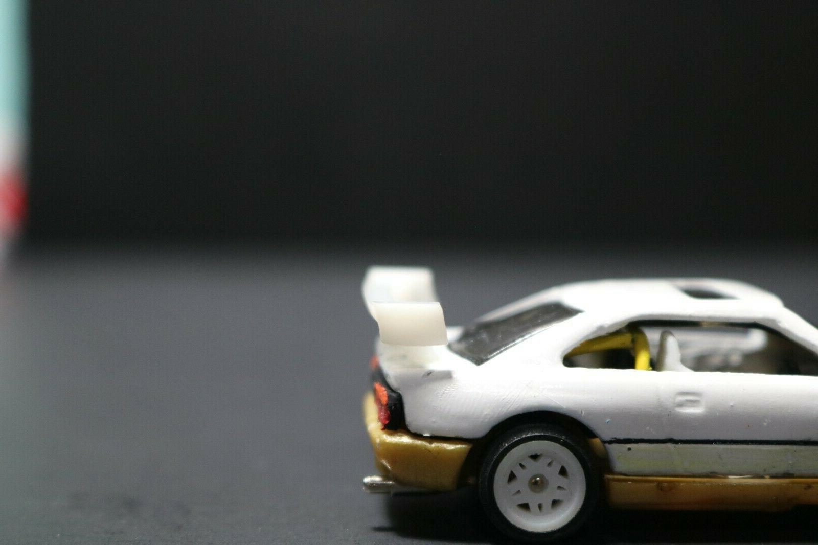 1/64 Simple for Diecast car 2x Spoiler DH-003 |