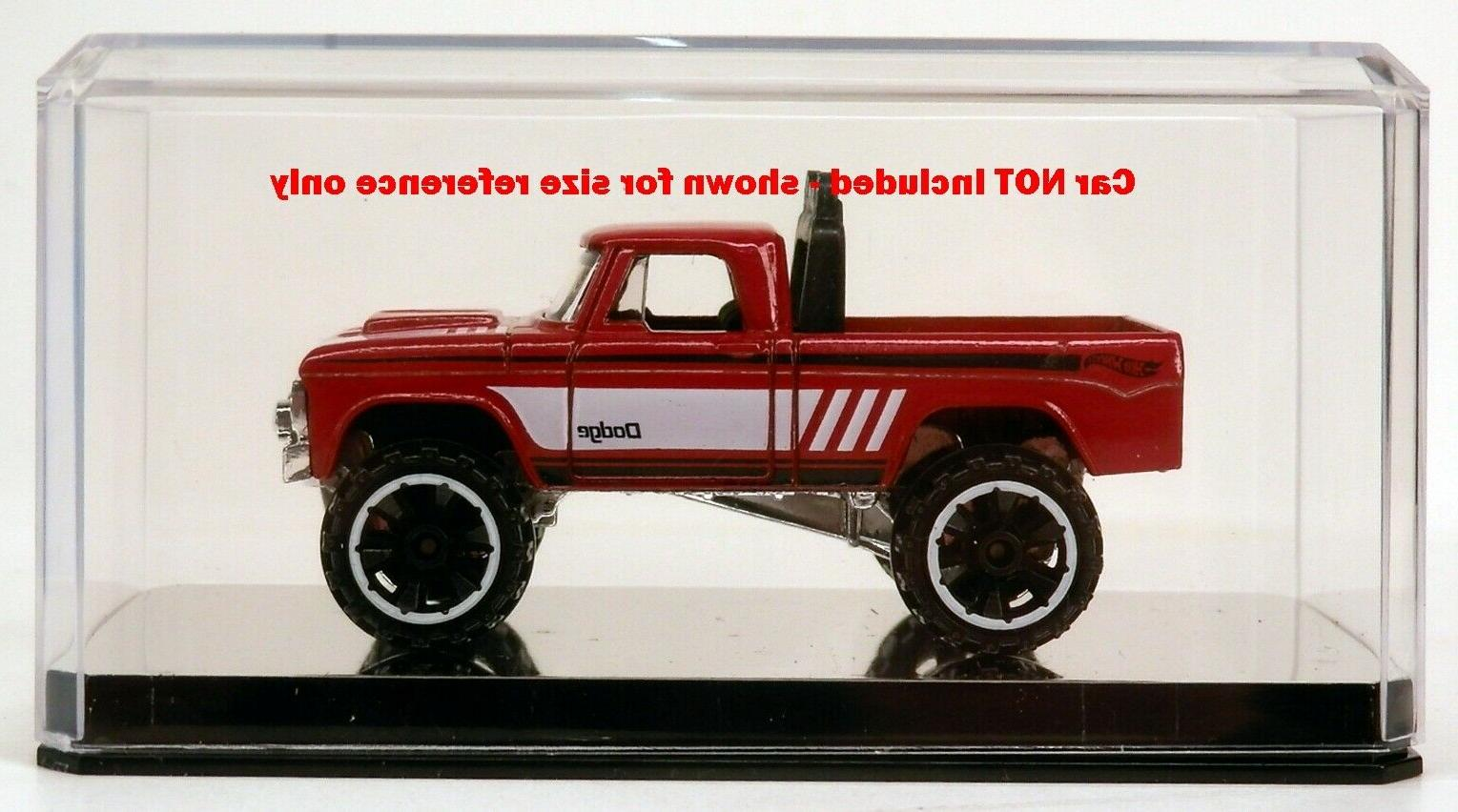 1 Clear Display Case Scale Diecast Car Base