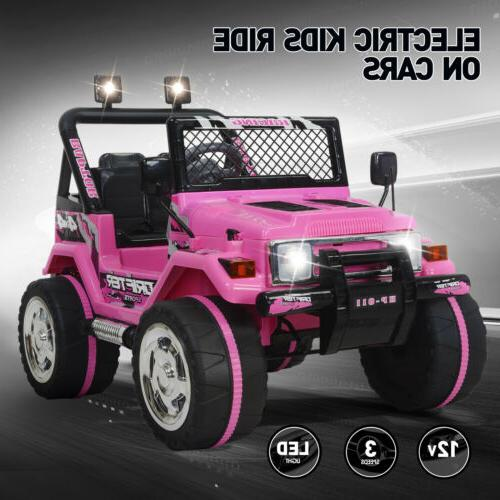 12v jeep electric ride on car