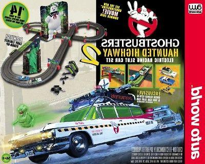14 ghostbusters hauted highway 2 race set