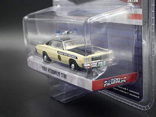 1977 Plymouth Fury Tennessee State Trooper Pursuit Series Diecast Model