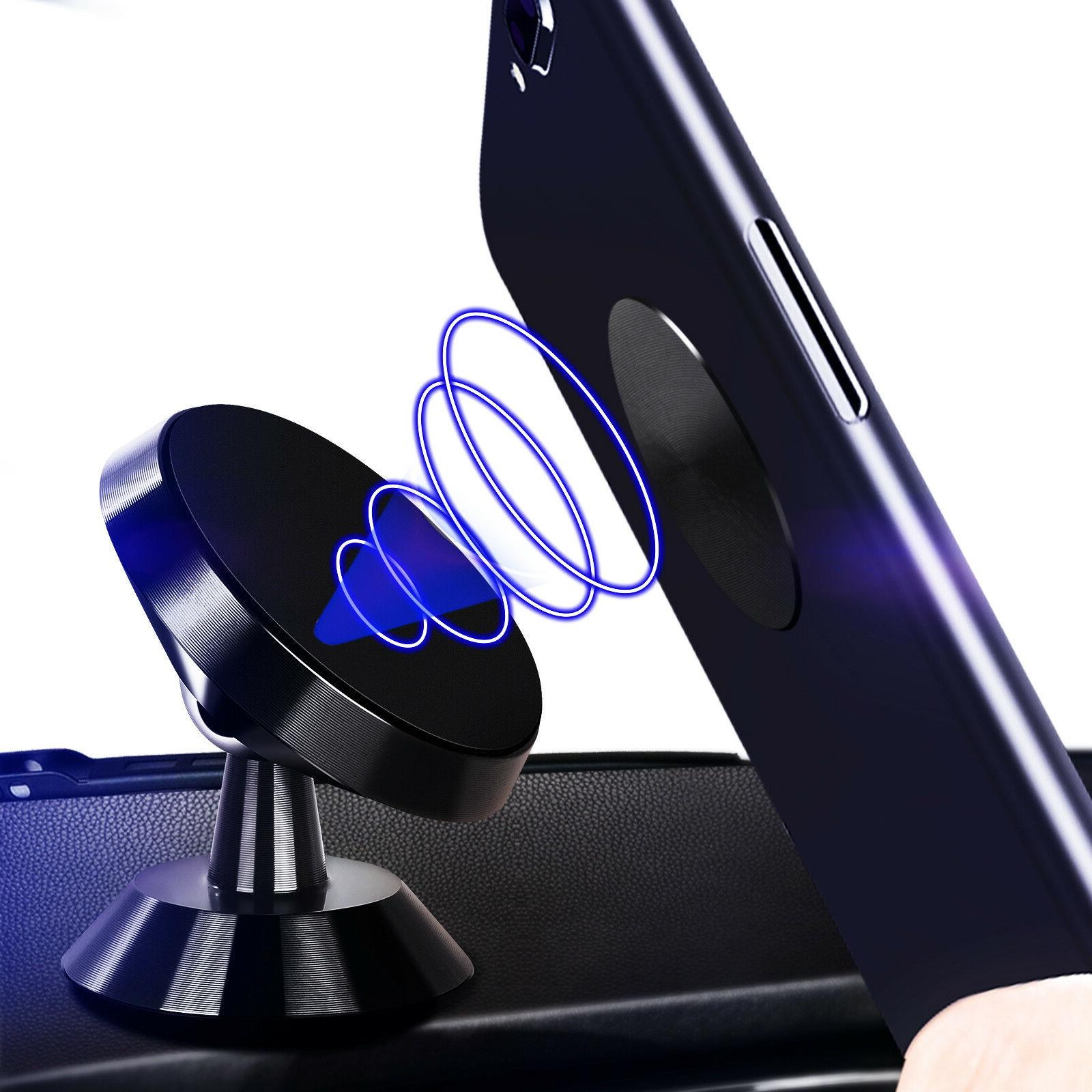 2-Pack Sticker Magnetic Car Phone