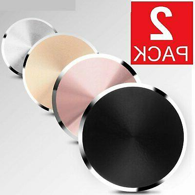 2 pack metal plate adhesive sticker replace
