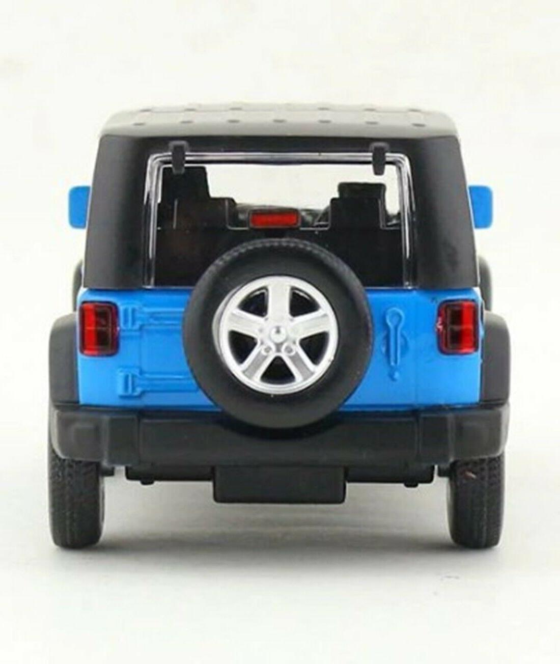 CAIPO 2014 Jeep Diecast Blue for Collection